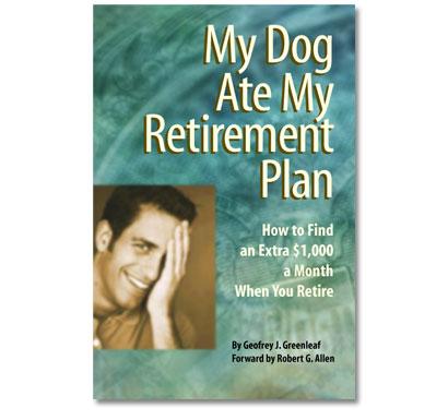 Book Jacket Design My Dog Ate My Retirement Plan 5